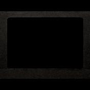 Spring Day- Black Paper Frame