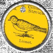 Spring Day- Bird Charm