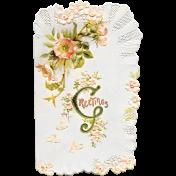 Spring Day- Card Ephemera