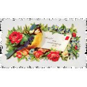 Spring Day- Calling Card Ephemera
