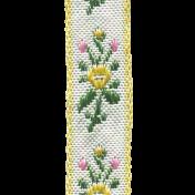 Spring Day- Floral Ribbon