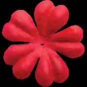 Spring Day- Red Flower