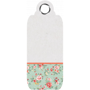 Spring Day- Floral Tag