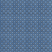 Spring Day- Blue Patterned Paper