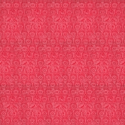 Spring Day- Red Patterned Paper