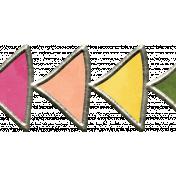 Raindrops & Rainbows- Arrow Doodle 3