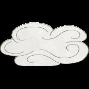 Raindrops & Rainbows- Cloud Doodle 4