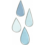 Raindrops & Rainbows- Raindrop Doodle 7