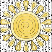 Raindrops & Rainbows- Sun Doodle