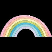Raindrops & Rainbows- Rainbow Doodle 3
