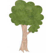 Raindrops & Rainbows- Tree Doodle