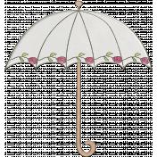 Raindrops & Rainbows- Umbrella Doodle 2