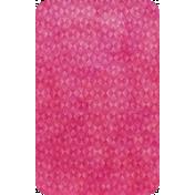 Raindrops & Rainbows- Pink Card