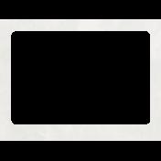 Raindrops & Rainbows- White Paper Frame 1