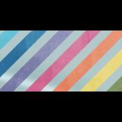Raindrops & Rainbows- Striped Washi Tape