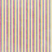 Raindrops & Rainbows- Vertical Striped Paper