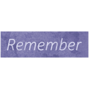 Raindrops & Rainbows- Remember Word Art