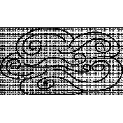 Cloud Doodle Template 017