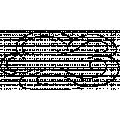 Cloud Doodle Template 018