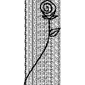 Flower Doodle Template 059
