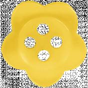 Raindrops & Rainbows- Yellow Button 01