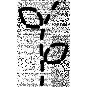 Stitch Doodle Template 034