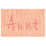 Family Day- Aunt Word Art