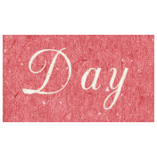 Family Day- Day Word Art