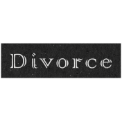 Family Day- Divorce Word Art