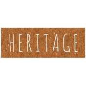 Family Day- Heritage Word Art