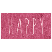Family Day- Happy Word Art