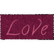 Family Day- Love Word Art