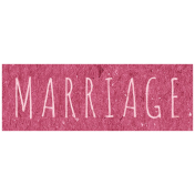 Family Day- Marriage Word Art