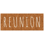Family Day- Reunion Word Art