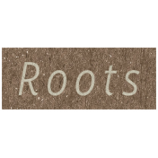 Family Day- Roots Word Art