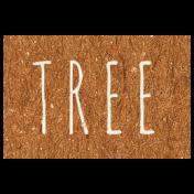 Family Day- Tree Word Art