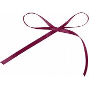 Family Day- Dark Pink Bow