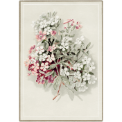 Family Day- Floral Postcard