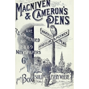 Family Day- Macniven & Cameron's Pens Label
