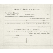 Family Day- Marriage License