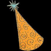 Happy Birthday Mini- Hat Doodle