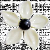 Good Vibes- White Flower