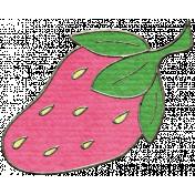 Happy Birthday Mini- Strawberry Doodle