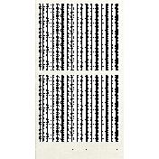 Happy Birthday Mini- White Paper Frame