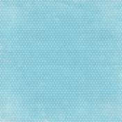 Nature Escape Mini- Blue Polka Dot Paper