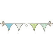 Nature Escape Mini- Bunting
