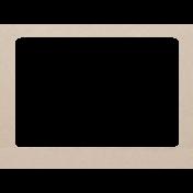 Nature Escape Mini- Brown Paper Frame