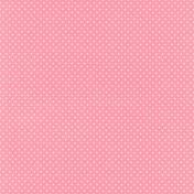 Summer Lovin' Mini- Pink Polka Dot Paper