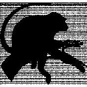 Animal Stamp Template 018