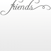 Toolbox Journal Cards Vellum 1- 4x4 Friends